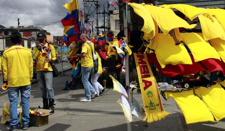 Clasificación de Colombia al Mundial: Clasificación de Colombia al Mundial reactivará la economía en Bogotá
