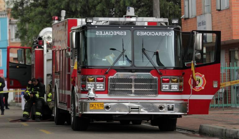 Incendio en Bosa: Continúan labores para mitigar incendio en Bosa