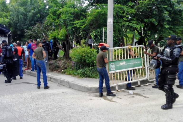 Ordenan suspender el cierre de un predio en barrio de Cartagena: Ordenan suspender el cierre de un predio en barrio de Cartagena