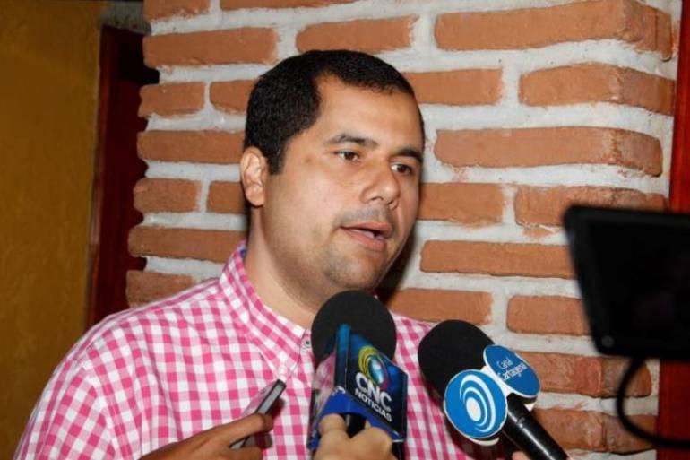 Wilson Toncel reanudó sus labores como concejal de Cartagena