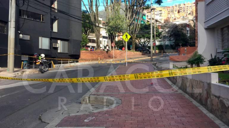 Bogotá: Investigan acto de sicariato en la zona de Chapinero en Bogotá