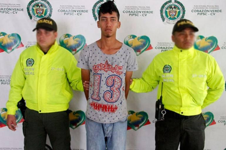 Jhon Edgar Hernández, alias El zarco, condenado por feminicidio en Cali