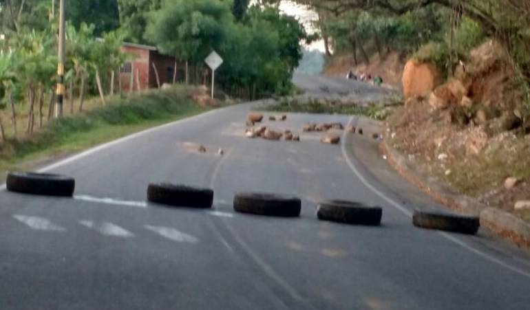 Vía Cúcuta - Ocaña.