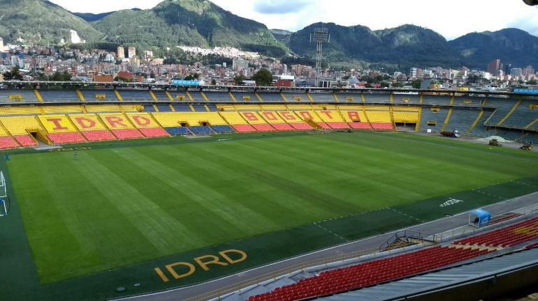El Campín: El 22 de octubre estará listo El Campín para partidos de fútbol
