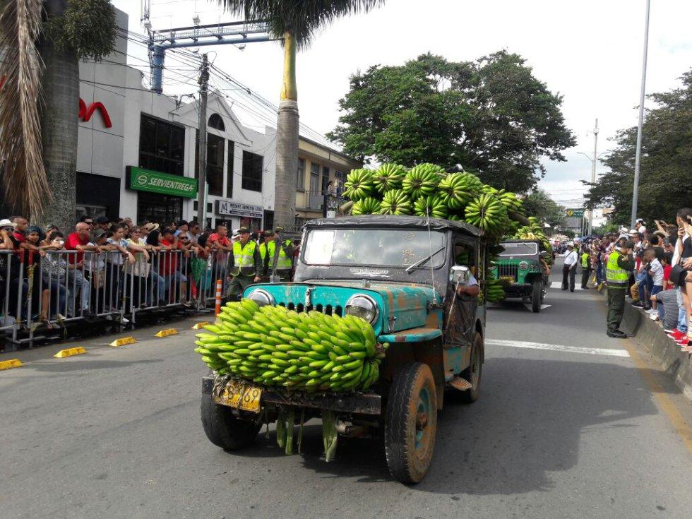 El plátano otro de los productos infaltables en el Yipao