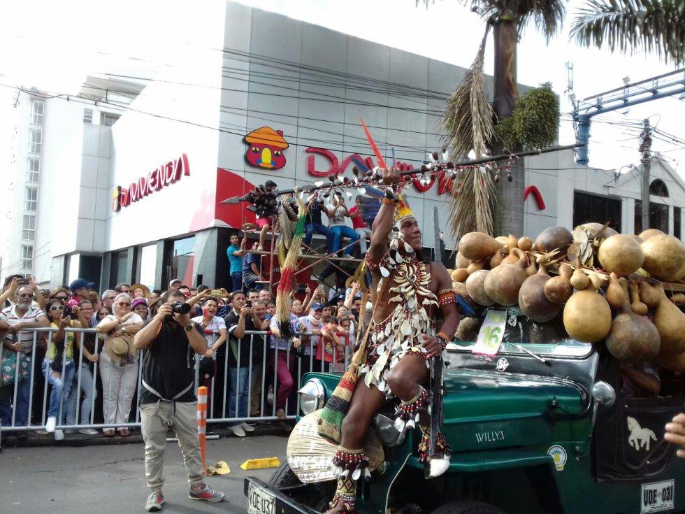 La mezcla de culturas y tradiciones en el desfile del Yipao