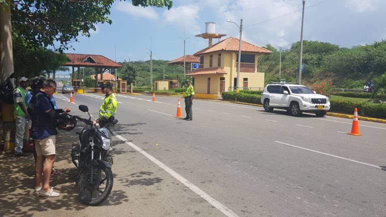 Más de 17.000 vehículos circularon por las entradas a Cartagena durante el puente
