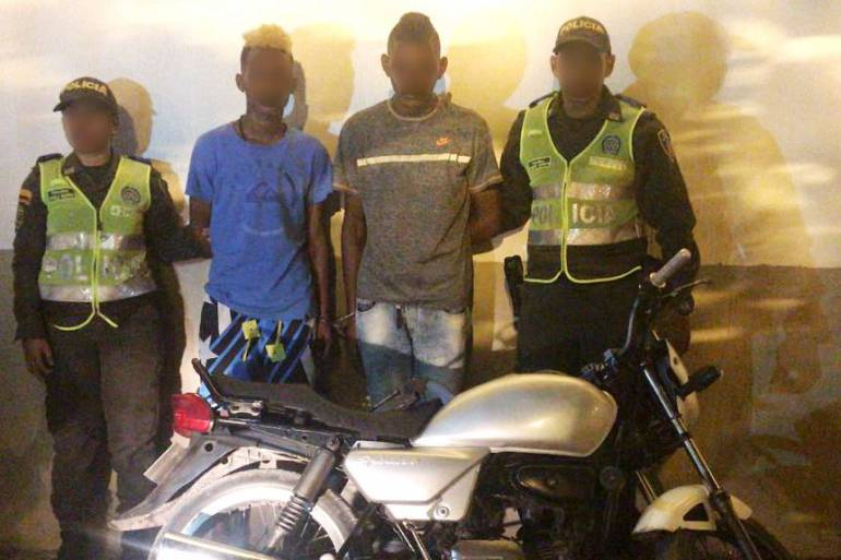 Capturan tres asaltantes que tenían azotados los barrios El Carmelo y Marbella en Cartagena: Capturan tres asaltantes que tenían azotados los barrios El Carmelo y Marbella en Cartagena