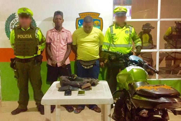 Capturan presuntos piratas terrestres que operaban en zona industrial de Cartagena y en vía a Barú: Capturan presuntos piratas terrestres que operaban en zona industrial de Cartagena y en vía a Barú