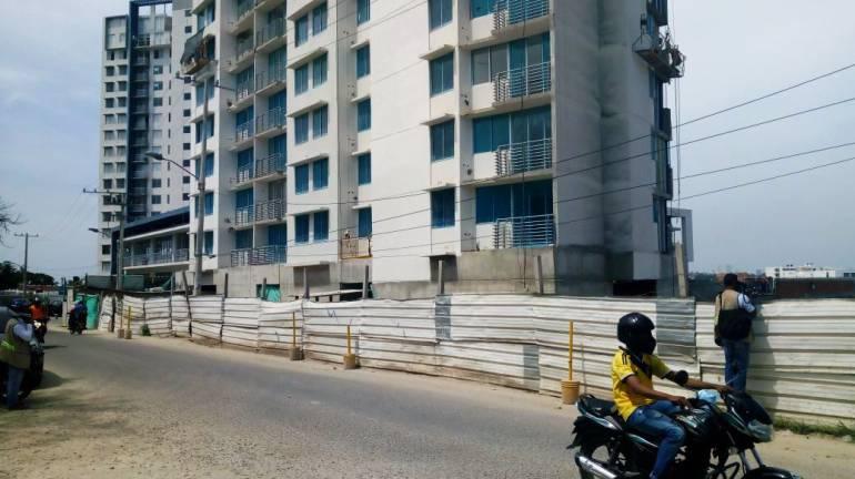 Tres obreros resultaron heridos en accidente laboral en construcción de Cartagena: Tres obreros resultaron heridos en accidente laboral en construcción de Cartagena