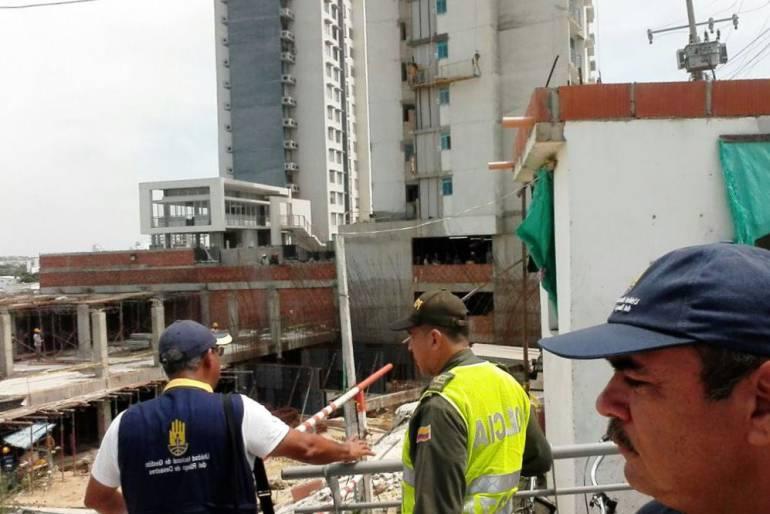 Obra donde resultaron tres obreros heridos cumple con normas: Alcaldía de Cartagena: Obra donde resultaron tres obreros heridos cumple con normas: Alcaldía de Cartagena