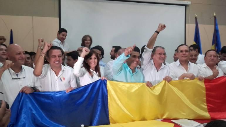 Gobernadores de la Región Caribe.