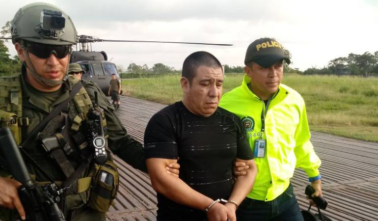 Colombia: Cae narco