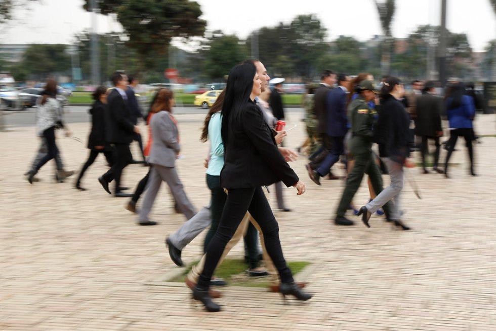 Fueron aproximadamente 110 mil personas las que participaron en el simulacro nacional.