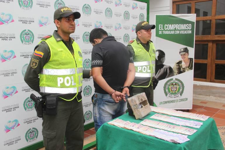 Policía frustró millonario robo y capturó a uno de los delincuentes: Policía frustró millonario robo y capturó a uno de los delincuentes