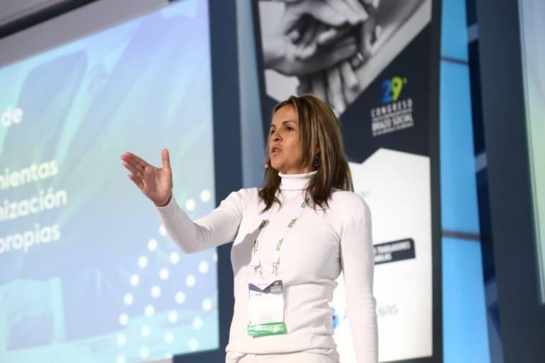 """""""El bienestar de los trabajadores es una de las prioridades"""": directora del Sena, María Andrea Nieto: """"El bienestar de los trabajadores es una de las prioridades"""": directora del Sena, María Andrea Nieto"""