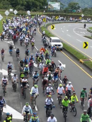 Los ciclistas pidieron respeto en las carreteras