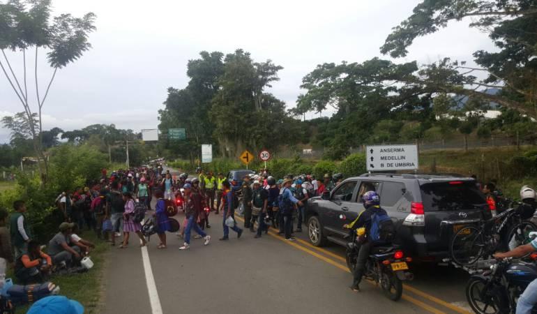 MinDefensa calificó de secuestro, retención de policías en Risaralda