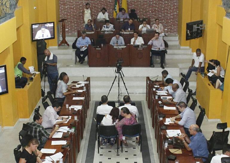 Administración de Cartagena sustenta ante el Concejo el presupuesto: Administración de Cartagena sustenta ante el Concejo el presupuesto