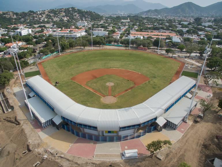 Estadio de béisbol de Santa Marta. /FOTO ALCALDÍA