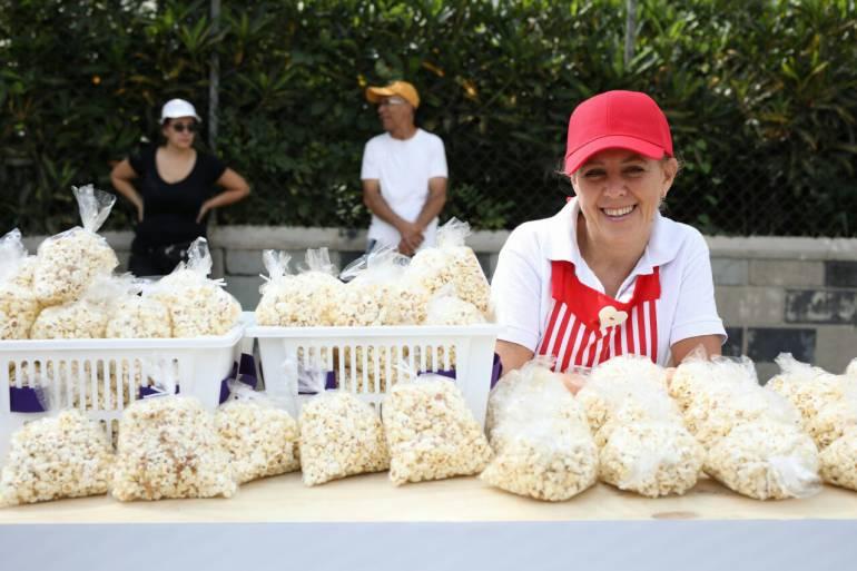 EMPRENDEDORES MEDELLÍN: Emprendedores de Medellín participan en feria gastronómica