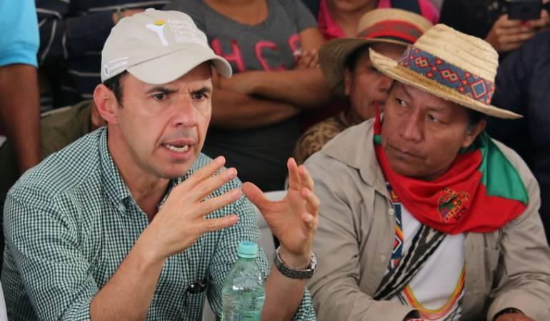 Avanza negociación entre Gobierno e indignas para disipar las protestas: Gobierno e indígenas llegan a acuerdo para desbloquear vías