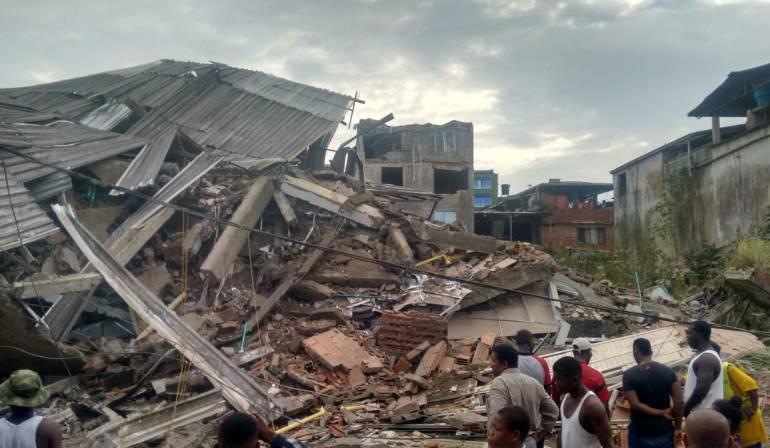 #AlertaADN Se desploma edificio en Buenaventura, Colombia