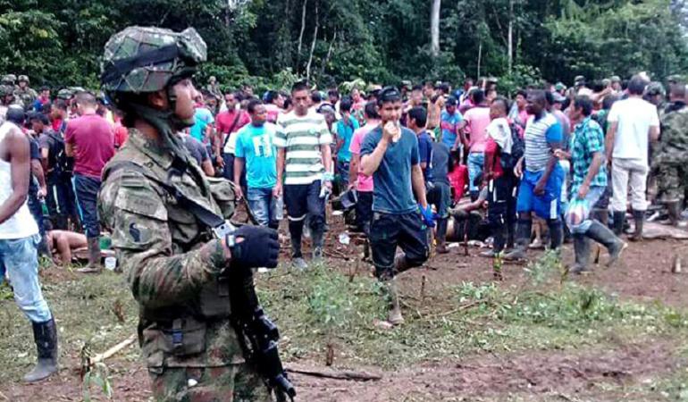 Hechos violentos en el municipio de Tumaco (Nariño)