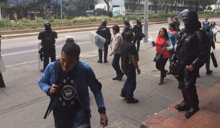 Protestas en Universidad Pedagógica: Protestas en la Universidad Pedagógica por falta de recursos