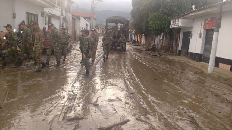 Corinto: Rescate de niña en Corinto, Cauca recordó la tragedia de Armero