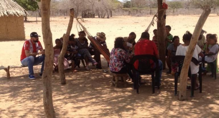 Indígenas wayúu con vómito y diarrea esperan ayudas