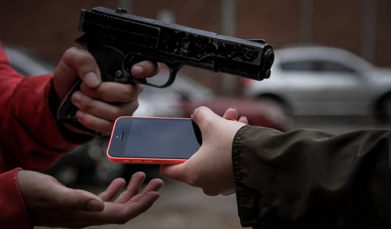 Robo de celulares: El robo de celulares en el país corresponde el 60% de los atracos callejeros