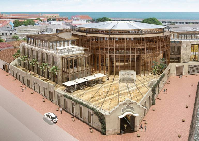 El proyecto de La Serrezuela, en Cartagena, va en un 75% de avance: El proyecto de La Serrezuela, en Cartagena, va en un 75% de avance