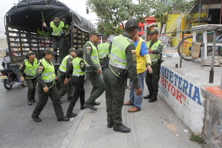 En Cartagena se han impuesto 1.788 comparendos con código de policía: En Cartagena se han impuesto 1.788 comparendos con código de policía