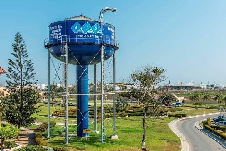 Acueducto de Barranquilla a cargo de Triple A