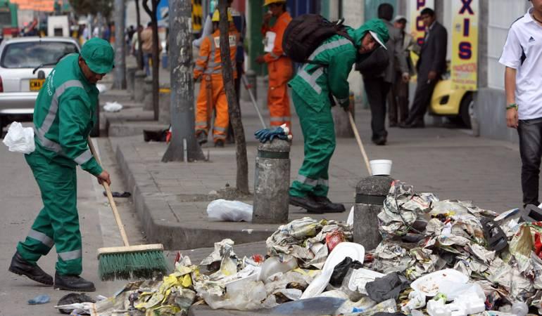 Bogotá licitación de aseo: Los reparos a la licitación de aseo de Bogotá