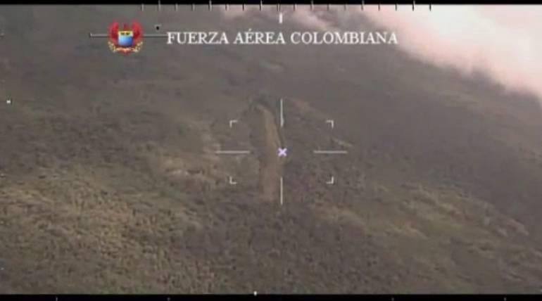 Narcotráfico: Destruyen pista aérea ilegal utilizada para narcotráfico en Buenaventura