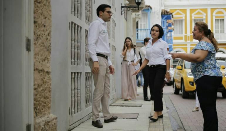 Intervienen calles del Centro Histórico de Cartagena para temporada turística