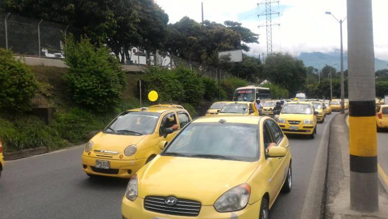 Este será el recorrido de los taxistas durante la protesta de este miércoles
