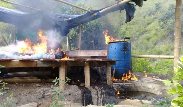 Narcotráfico en Huila Neiva: Siguen los golpes contra el narcotráfico en Huila