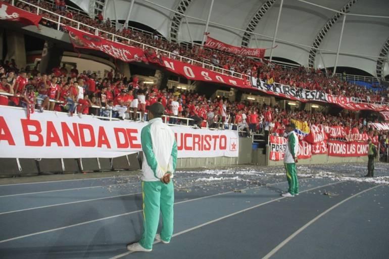 Medidas partido América-Bucaramanga: Medidas por partido en el Pascual Guerrero entre América-Bucaramanga