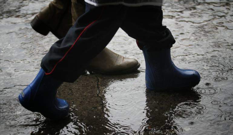 Lluvias torrenciales afectan varios sectores de la capital del país: Emergencia por lluvias en Bogotá