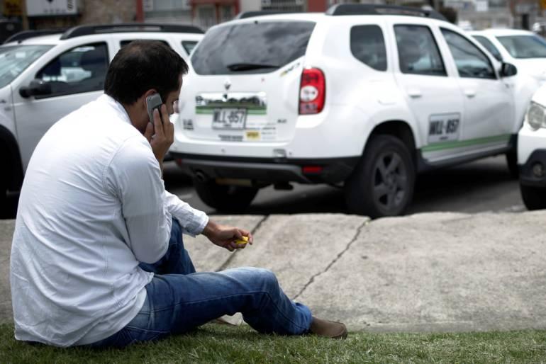 Conductores de Uber en Cartagena adelantan paro por rebaja en la tarifas: Conductores de Uber en Cartagena adelantan paro por rebaja en la tarifas
