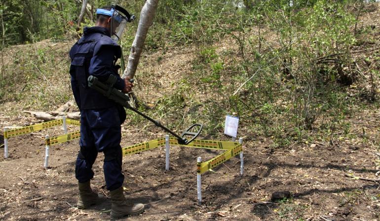 Inicia desminado en municipios de Chocó: Arranca el desminado en Chocó
