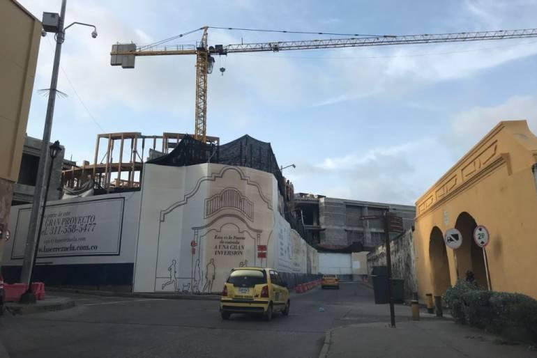 MinCultura conmina a la alcaldía de Cartagena para que suspenda obras de La Serrezuela: MinCultura pide suspender cuanto antes obras de edificio La Serrezuela en Cartagena