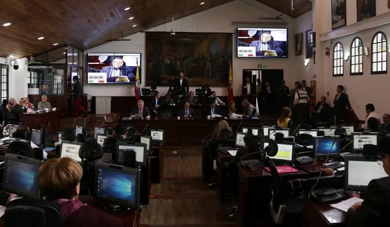 """Caso Odebrecht: """"Rifi Rafe"""" en el Concejo por petición de la renuncia del contralor de Bogotá"""