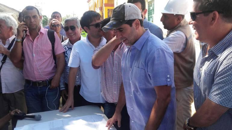 Alcalde de Barranquilla,  Alejandro Char.