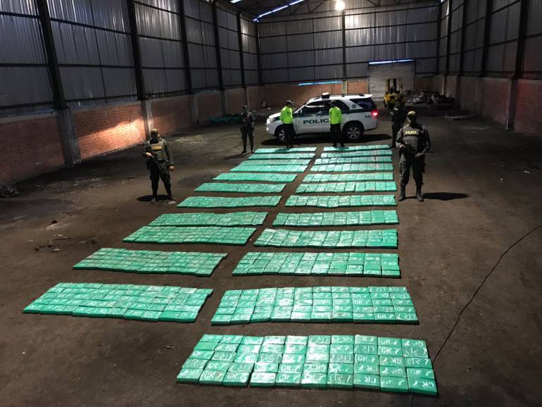 Narcotráfico: Incautan más de 1.100 kilos de cocaína en Buenaventura