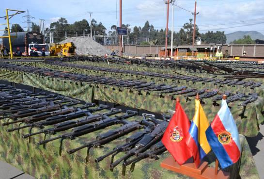 Colombia tiene 35.000 armas de fuego menos: Colombia tiene 35.000 armas de fuego menos