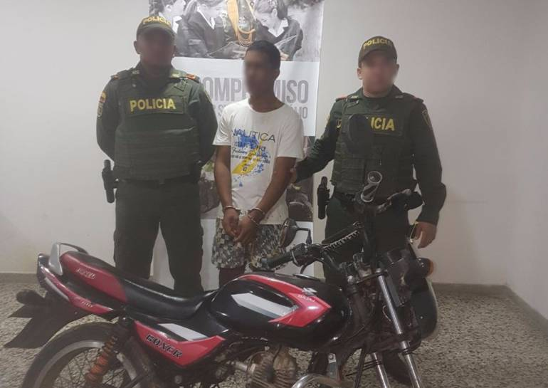 "Tras las rejas, alias ""Zaporro"", por hurto de motos en Cartagena: Tras las rejas, alias Zaporro, por hurto de motos en Cartagena"